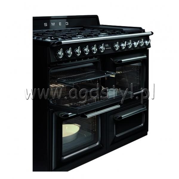 SMEG TR4110BL1  Kuchnia gazowo elektryczna Sklep AGD STYL  -> Kuchnia Gazowo Elektryczna Z Plytą Indukcyjną
