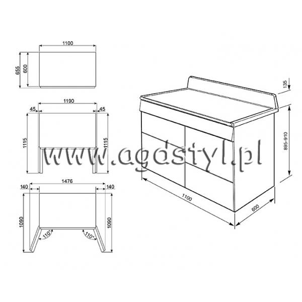 SMEG TR4110BL1  Kuchnia gazowo elektryczna Sklep AGD STYL  -> Kuchnia Gazowo Elektryczna Smeg