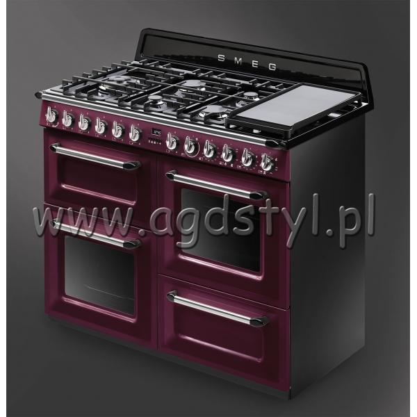 SMEG TR4110RW1  Kuchnia wolnostojąca z płytą gazową   -> Kuchnia Kaflowa Wolnostojąca