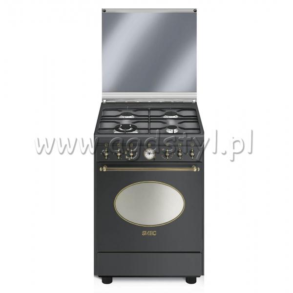 SMEG CO68GMA8  Kuchnia gazowo elektryczna  -> Kuchnia Gazowo Elektryczna Smeg