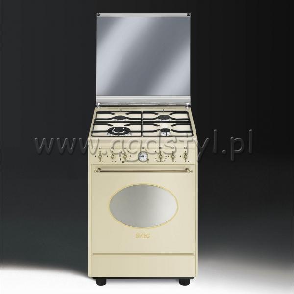 SMEG CO68GMP9  Kuchnia gazowo elektryczna  -> Kuchnia Gazowo Elektryczna Smeg