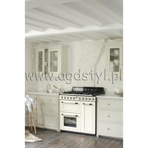 SMEG TR93P  Kuchnia wolnostojąca z płytą gazową Sklep   -> Kuchnia Kaflowa Wolnostojąca